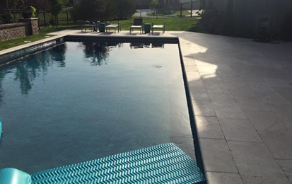 Poolside - Travertine